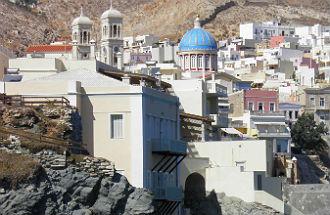 Weersverwachting Syros Griekenland