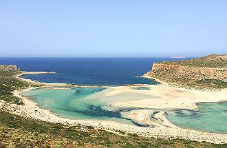 Balos beach op Kreta foto's