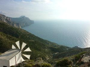 Met de wind in de zeilen op Karpathos