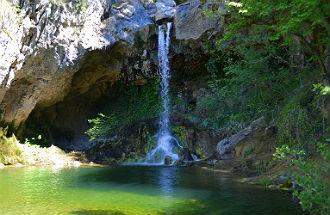 Drimona watervallen Evia