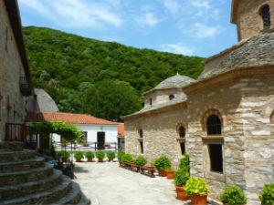 Evangelistria klooster op Skiathos