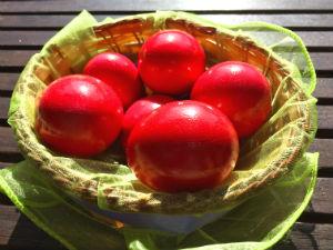 Kalo Pascha rode eieren Griekenland