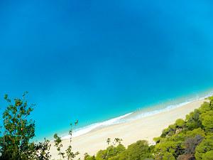Mooiste stranden van Griekenland Egremni op Lefkas