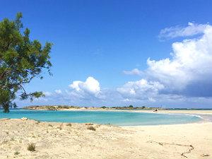 Mooiste stranden Griekenland Elafonisi op Kreta