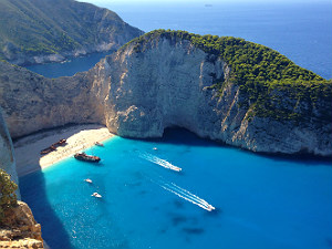 Mooiste stranden van Griekenland Shipwreck beach