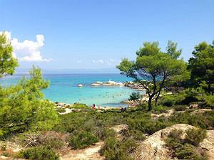 Mooiste stranden van Griekenland Kavourotrypes Chalkidiki