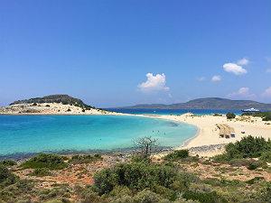 Mooiste stranden Griekenland Simos beach