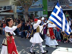 Ochi dag Griekenland nationale feestdag parade