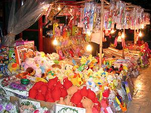 Pasen Griekenland feestelijke marktkraam