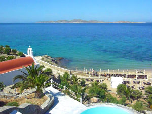 Mykonos Grand Hotel & Resort bij beste resorts van Europa