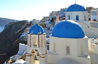 Santorini heeft beste resort van Europa