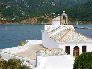 Panagitsa tou Pyrgou kerk in Skopelos stad