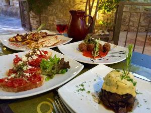 Skopelos stad Olivo restaurant