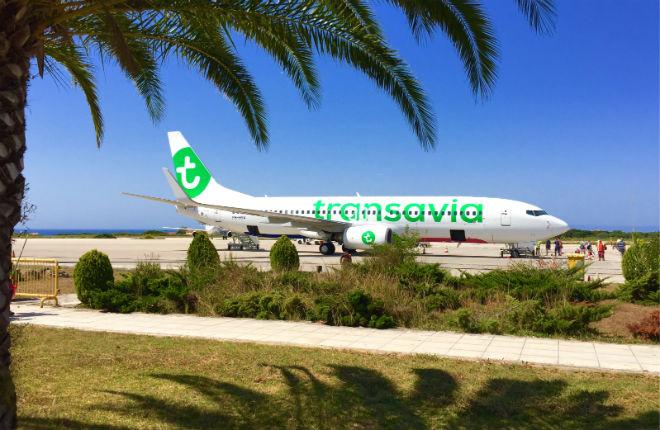 Vliegveld Kefalonia in Griekenland
