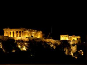 Akropolis gratis wifi in Griekenland