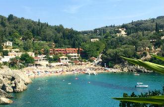 Liapades vakantie op Corfu