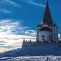 Kaimaktsalan ski resort in Griekenland