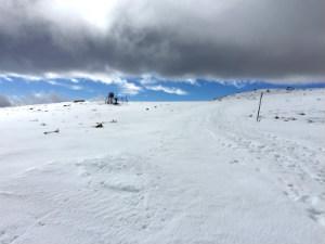 Kaimaktsalan ski center Griekenland de pistes en sneeuw