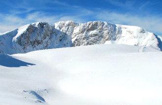 Parnassos ski resort in Griekenland