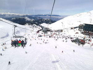 Parnassos wintersport Griekenland