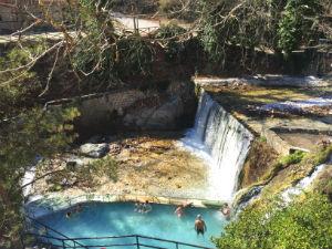 Pozar Loutraki hot springs in Griekenland