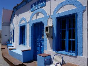 Gennadi Antika taverna op Rhodos tijdens vakantie