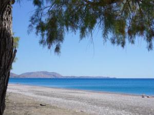 Gennadi strand op Rhodos