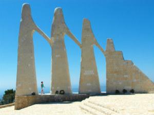 Zalongo bezienswaardigheid in Epirus Griekenland