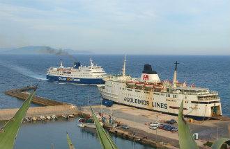 Binnenlandse vlucht of met de veerboot reizen in Griekenland