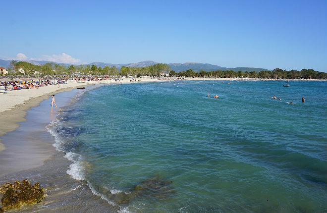 Ammoudia vakantie in Epirus Griekenland