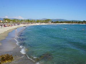 Ammoudia beach in Epirus Griekenland