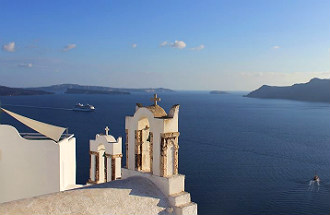 Santorini op tweede plaats mooiste eilanden ter wereld