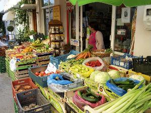 Mirtos winkel op Kreta