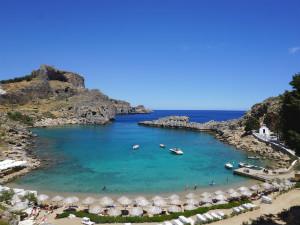 Op vakantie naar Rhodos in Griekenland