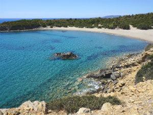 Op vakantie naar Rhodos Glystra beach