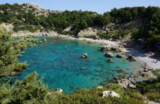 Anthony Quinn Bay op Rhodos in Griekenland