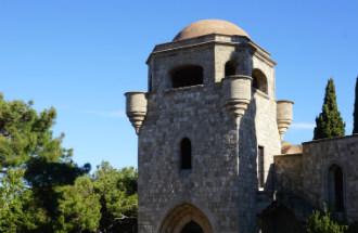 Filerimos klooster op Rhodos