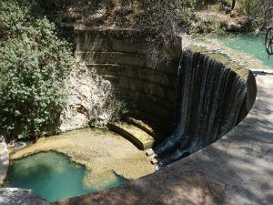 Epta Piges waterval op Rhodos