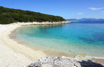 7 mooiste stranden van Kefalonia Emblisi beach
