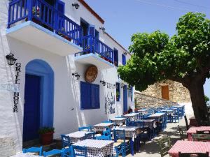 Alonissos oude stad restaurants