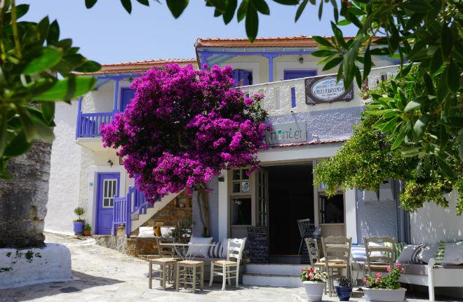 Alonissos oude stad vakantie