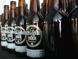 Bier van Kefalonia de flessen van Kefalonian Beer