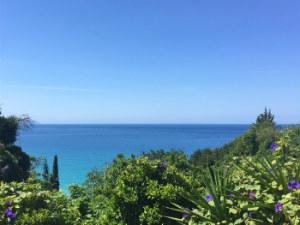 Lourdas uitzicht op de baai op Kefalonia