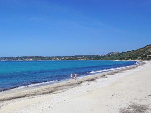 Lourdas strand en baai Kefalonia