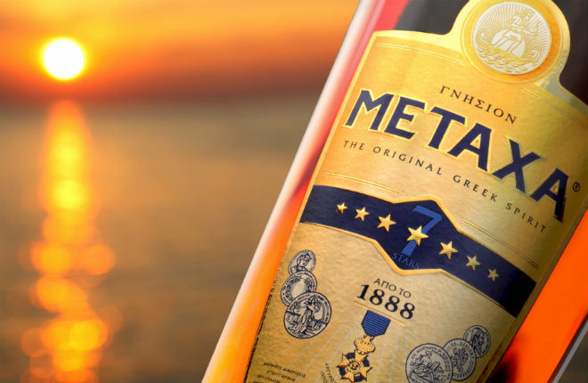 Metaxa cocktails