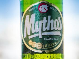 Flesje Mythos bier uit Griekenland