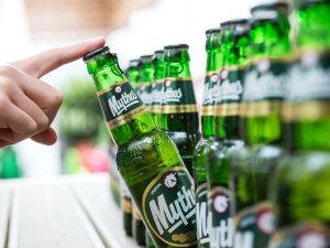 Nieuwe dop Mythos bier Griekenland