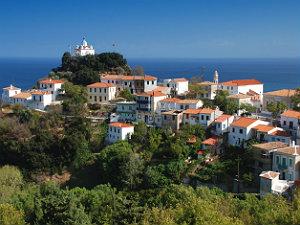 Op vakantie naar Samos bergdorp
