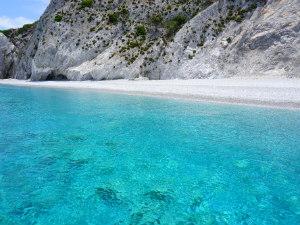 Lalaria beach op Skiathos