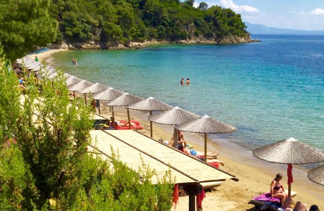Achladies vakantie op Skiathos
